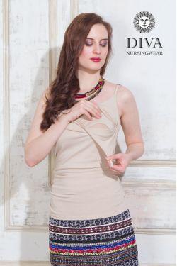 Топ для беременных Diva Nursingwear Natale, цвет Grano