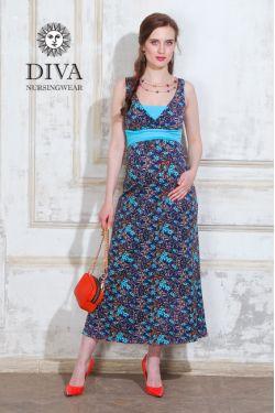 Сарафан для беременных Diva Nursingwear Alba Maxi, Primavera