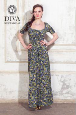 Платье для беременных и кормящих Diva Nursingwear Stella Maxi, Giardino