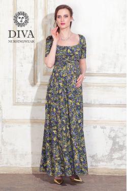 Платье для кормящих Diva Nursingwear Stella Maxi, Giardino