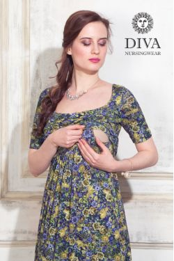 Платье для беременных Diva Nursingwear Stella Maxi, Giardino