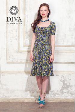 Платье для беременных и кормящих Diva Nursingwear Stella, Giardino