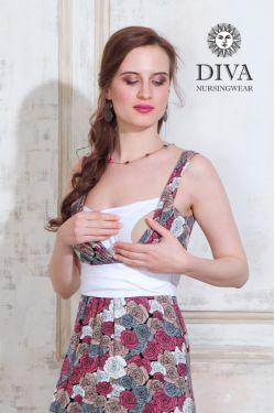 Сарафан для кормящих Diva Nursingwear Alba Maxi, Rose