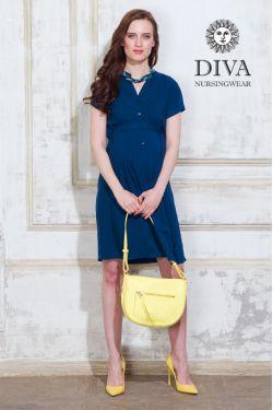 Платье для беременных Diva Nursingwear Gemma, цвет Notte