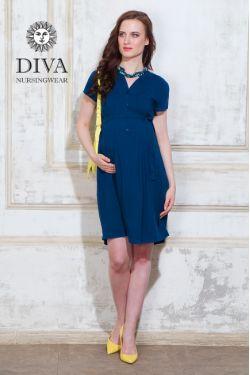 Платье для беременных и кормящих Diva Nursingwear Gemma, цвет Notte