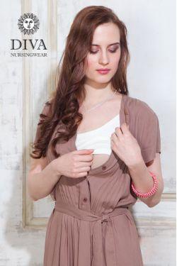 Платье для кормления Diva Nursingwear Gemma, цвет Мока