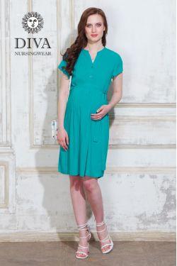 Платье для беременных Diva Nursingwear Gemma, цвет Smeraldo