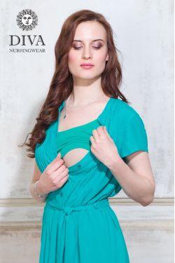 Платье для кормления Diva Nursingwear Gemma, цвет Smeraldo