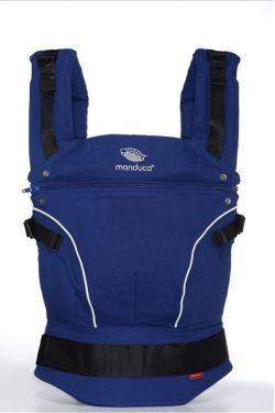 Слинг-рюкзак Manduca PureCotton royal blue (синий)