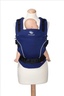 Эргономичный рюкзак Manduca PureCotton royal blue (синий)