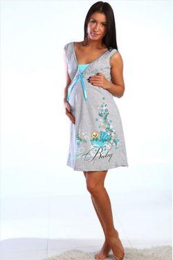 Ночная сорочка для беременных и кормящих 503-01