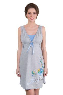 Ночная сорочка для беременных и кормления 503-01