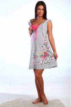 Ночная сорочка для беременных 503-02