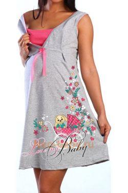 Ночная сорочка для беременных и кормящих 503-02