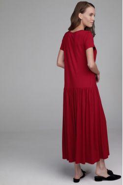 """Платье """"Астра"""" бордо для беременных и кормящих"""