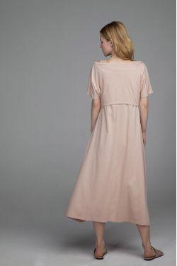 """Платье """"Ласточка"""" натур для беременных и кормящих"""
