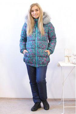Зимняя куртка для беременных  В-903.2 З