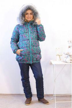 куртка зимняя для беременных В-903.2 З