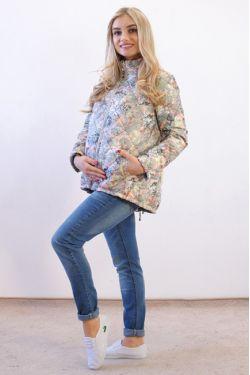 куртка для беременных демисезонная Д-1049 З