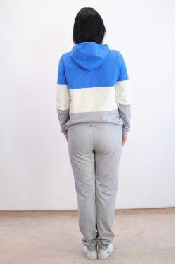 Спортивный костюм Адель с голубым