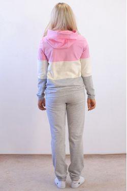 Спортивный костюм Адель с розовым