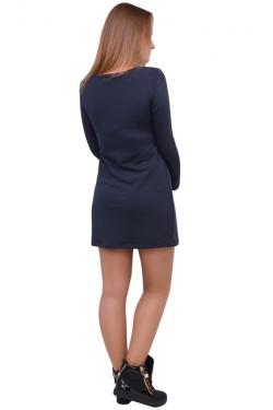 Платье для кормления Л083 т.серый