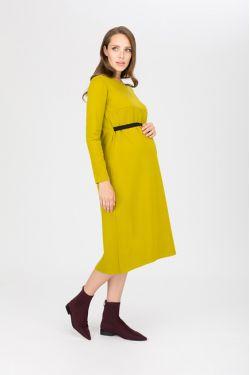 """платье """"Атлантида"""" васаби для будущих и кормящих мам"""