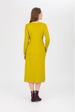 "Платье для кормящих ""Атлантида"" васаби"