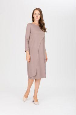 """платье """"Богема"""" бежевое для будущих и кормящих мам"""