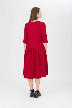 "Платье для кормления ""Мандрагора"" вишня"