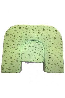 Подушка для кормления  двойни «Milk Rivers Twins» нежно-зеленая