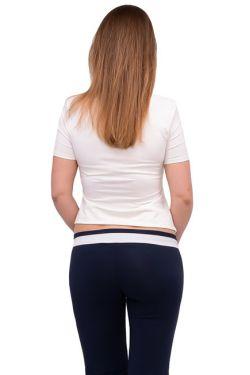 штаны для беременных т. синий шампань