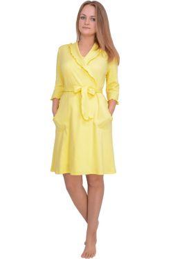 Халат для беременных Л061-2 желтый
