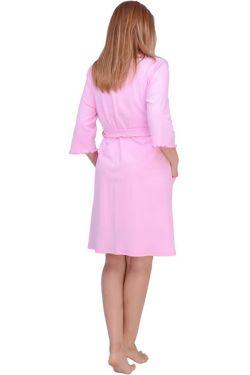 Халат для беременных и кормящих Л061-2 розовая
