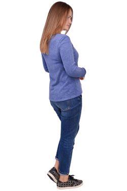 Свитшот для кормления Л086 джинс