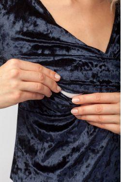 """Платье для кормления """"Верона"""" темно-синее"""