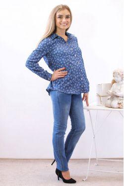 Рубашка для будущих мам Адель У-2015.СБ