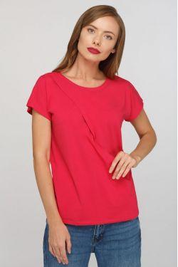 """Блуза для беременных и кормящих """"Шанталь"""" фуксия"""