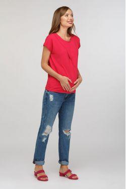 "Блуза для кормящих ""Шанталь"" фуксия"