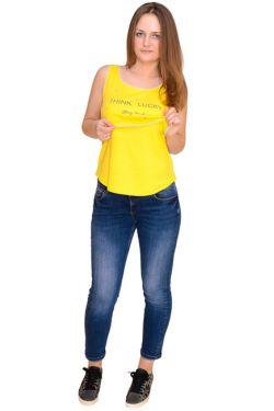 Топ желтый Л095