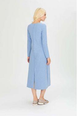 """Платье для кормления """"Вектор"""" голубое"""