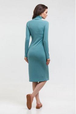 """Платье-водолазка """"Царевна"""" ментол для беременных и кормящих"""