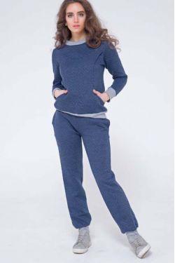 Спортивный костюм для кормящих и беременных из капитония Diva Amelia, Notte