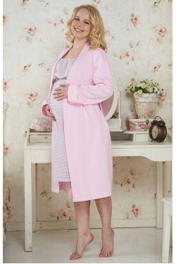 Халат для беременных и кормящих  Брунико-1