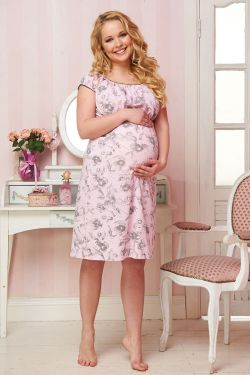 Ночная рубашка для беременных и кормящих Ачиреале