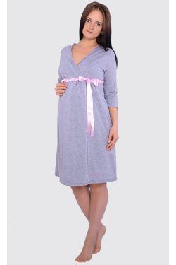 Комплект домашней одежды для беременных и кормящих Л060