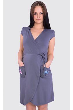 Халат для беременных и кормящих Л063