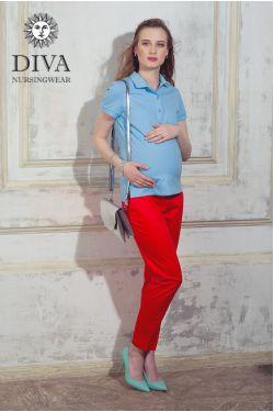 Поло для кормления Diva Nursingwear Polo, цвет Celeste