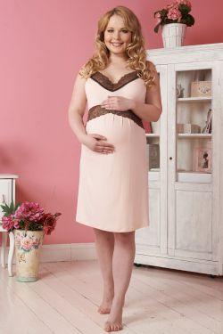 """Ночная сорочка для беременных и кормления """"Фьюджи"""""""