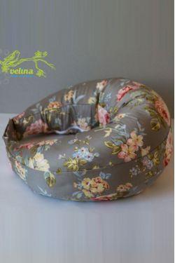 """Подушка для кормления Velina """"Чайная роза"""""""